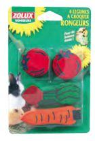 Zolux Maderas Roedor Mini Verduras